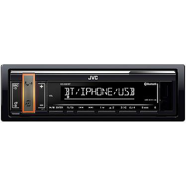 JVC KD-X361BT Autoradio MP3 / FM / RDS pour Android/iPhone/iPod avec Bluetooth, port USB, entrée AUX et contrôle Spotify