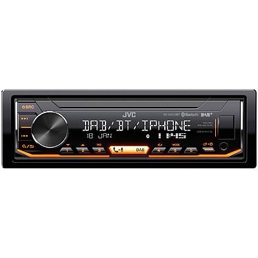 JVC KD-X451DBT Autoradio MP3 / FM / RDS / DAB+ pour Android/iPhone/iPod avec Bluetooth, port USB, entrée AUX et contrôle Spotify