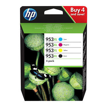 HP 953XL Noir/3 couleurs (3HZ52AE)
