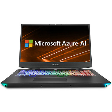"AORUS 15-W9-7FR0252W Intel Core i7-8750H 16 Go SSD 512 Go + HDD 2 To 15.6"" LED Full HD 144 Hz NVIDIA GeForce RTX 2060 6 Go Wi-Fi AC/Bluetooth Webcam Windows 10 Famille 64 bits"