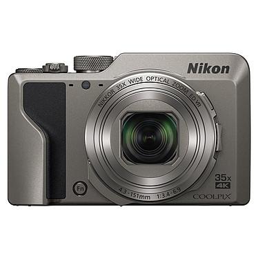 """Nikon Coolpix A1000 Argent Appareil photo 16 MP - Zoom optique 35x - Vidéo Ultra HD - Ecran LCD 3"""" tactile et inclinable - Viseur électronique - Wi-Fi - Bluetooth 4.1"""