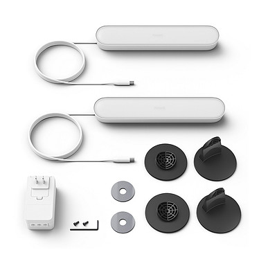 Acheter Philips Hue Play Pack x2 Blanc
