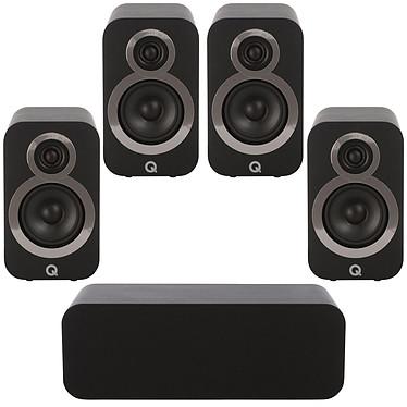 Q Acoustics Pack 5.0 3010i Noir Pack d'enceintes 5.0
