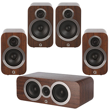 Q Acoustics 3090Ci + 3010i + 3020i Noyer