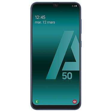 "Samsung Galaxy A50 Bleu Smartphone 4G-LTE Dual SIM - Exynos 9610 8-Core 2.3 Ghz - RAM 4 Go - Ecran tactile Super AMOLED 6.4"" 1080 x 2340 - 128 Go - NFC/Bluetooth 5.0 - 4000 mAh - Android 9.0"