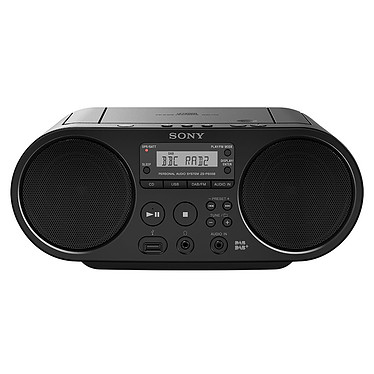 Sony ZS-PS55B Noir Radio CD portable MP3/WMA USB avec Tuner DAB/FM