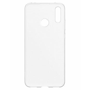 Huawei Coque Transparente Y7 2019 Coque arrière rigide pour Huawei Y7 2019