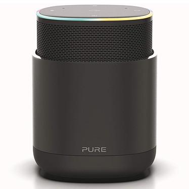 Pure DiscovR Noir Enceinte sans fil Wi-Fi et Bluetooth à commande vocale Amazon Alexa avec Spotify Connect, AirPlay 2, Radio Internet et batterie rechargeable