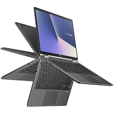 "ASUS Zenbook Flip 13 UX362FA-EL093R Intel Core i5-8265U 8 Go SSD 256 Go 13.3"" LED Tactile Full HD Wi-Fi AC/Bluetooth Webcam Windows 10 Professionnel 64 bits (garantie constructeur 2 ans)"