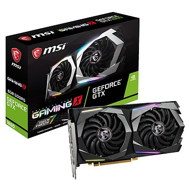 MSI GeForce GTX 1660 GAMING X 6G 6 Go GDDR5 - HDMI/Tri DisplayPort - PCI Express (NVIDIA GeForce GTX 1660)