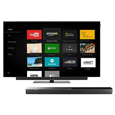 "Loewe Bild 3.55 OLED Gris Graphite + Bose Soundbar 700 Noir  Téléviseur OLED Ultra HD 55"" (140 cm) 16/9 - 3840 x 2160 pixels - Ultra HD 2160p - HDR - Wi-Fi - Bluetooth (dalle native 100 Hz) + Barre de son multiroom - Bluetooth - Wi-Fi - Amazon Alexa"