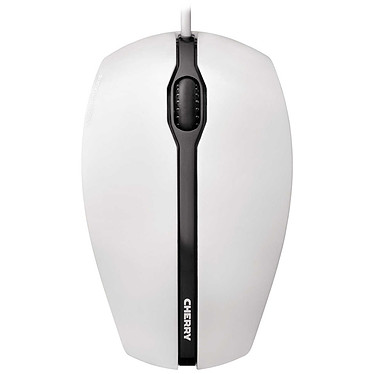 Cherry Gentix Corded Optical Mouse Blanc Souris optique ambidextre filaire