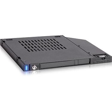 """ICY DOCK flexiDOCK MB511SPO-1B Rack pour disque HDD/SSD 2.5"""" pour ordinateur portable à installer sur le slot du lecteur optique"""