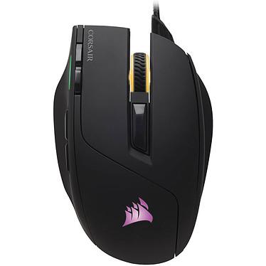 Corsair Gaming Sabre RGB Souris gaming - droitier - capteur optique 10 000 dpi - 8 boutons - rétroéclairage RGB