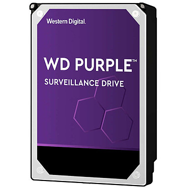 "Western Digital WD Purple Surveillance Hard Drive 6 To SATA 6Gb/s Disque Dur 3,5"" 6 To 64 Mo 5400 rpm Serial ATA 6Gb/s - WD60PURZ"