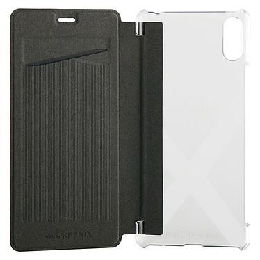 Made for Xperia Etui Folio Case Noir Sony Xperia L3 Etui folio avec porte carte pour Sony Xperia L3