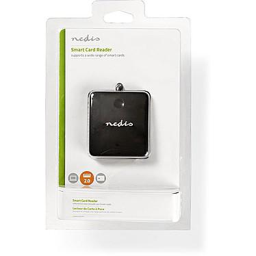 Nedis Smart Card Reader (CRDRU2SM1BK) pas cher
