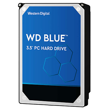 "Western Digital WD Blue 4 To SATA 6Gb/s 64 Mo Disque dur 3.5"" 4 To 5400 RPM 64 Mo Serial ATA 6Gb/s - WD40EZRZ (bulk)"