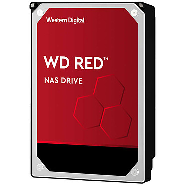 """Western Digital WD Red 10 To SATA 6Gb/s Disque Dur 3,5"""" 10 To 256 Mo Serial ATA 6Gb/s 5400 RPM - WD101EFAX (bulk)"""