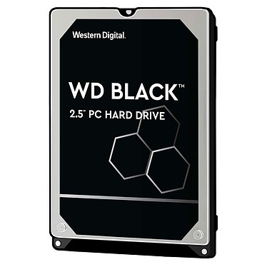 "Western Digital WD Black Mobile 1 To Disque dur 2.5"" 1 To 7200 RPM 64 Mo Serial ATA III 6Gb/s (bulk)"