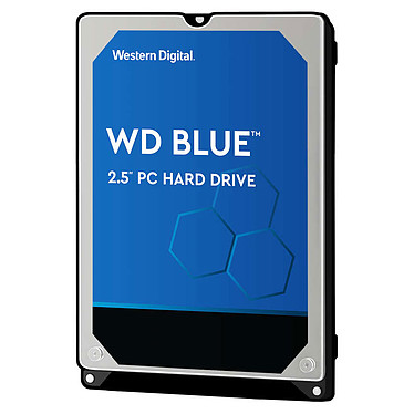 "Western Digital WD Blue Mobile 1 To Disque dur 2.5"" 1 To 7 mm 5400 RPM 128 Mo Serial ATA III 6 Gb/s (bulk)"