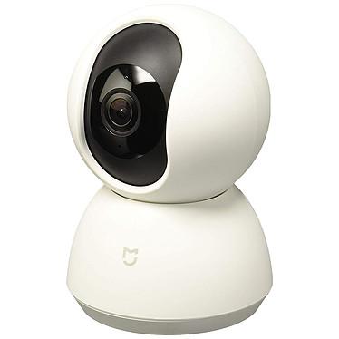 Xiaomi Mi Home Security Camera 360° 1080p Caméra de surveillance d'intérieur Full HD avec haut-parleur/microphone, panorama 360°, vision nocturne et détection de mouvement