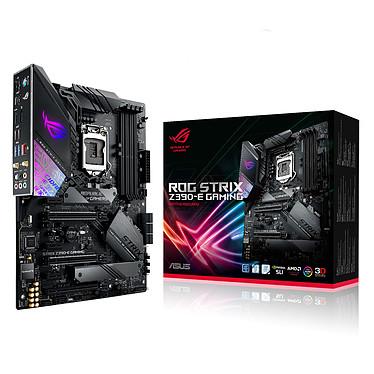 ASUS ROG STRIX Z390-E GAMING Carte mère ATX Socket 1151 Intel Z390 Express - 4x DDR4 - SATA 6Gb/s + M.2 - USB 3.1 - 3x PCI-Express 3.0 16x - WiFi AC