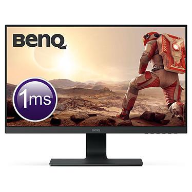 """BenQ 24.5"""" LED - GL2580HM 1920 x 1080 pixels - 1 ms (gris à gris) - Format large 16/9 - Dalle TN  - HDMI - DVI - Haut-parleurs - Noir"""