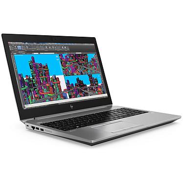 "HP ZBook 15 G5 (4QH30ET) Intel Core i7-8750H 16 Go SSD 256 Go + HDD 1 To 15.6"" LED Full HD NVIDIA Quadro P1000 4 Go Wi-Fi AC/Bluetooth Windows 10 Professionnel 64 bits"