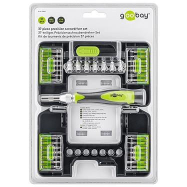 Goobay Kit de destornillador 37 piezas a bajo precio