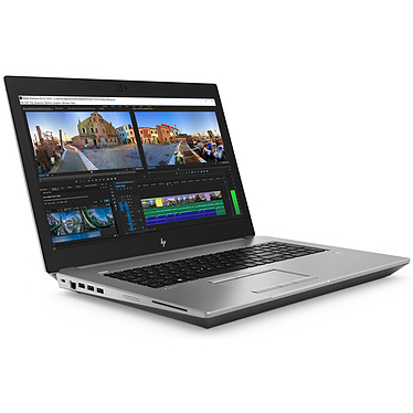 "HP ZBook 17 G5 (4QH26ET) Intel Core i7-8750H 16 Go SSD 256 Go + HDD 1 To 17.3"" LED Full HD NVIDIA Quadro P2000 4 Go Wi-Fi AC/Bluetooth Webcam Windows 10 Professionnel 64 bits"
