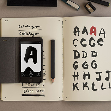 Avis Moleskine Smart Sketch Album XL Plain Noir