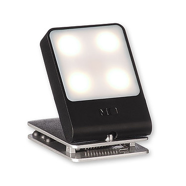 Moleskine Travel Light Noir Lampe universelle LED - Noir