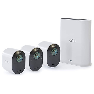 Arlo Ultra Pack 3 Smart Caméra