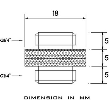 Acheter Barrow Extension Mâle vers Mâle 5 mm - Blanc (TB2D-MINI01)
