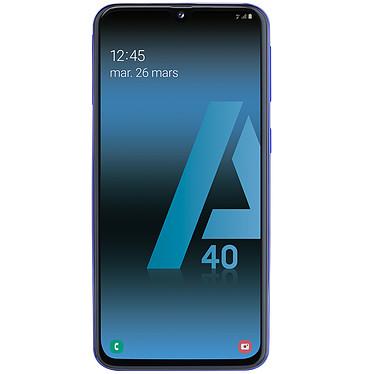 "Samsung Galaxy A40 Bleu Smartphone 4G-LTE Dual SIM - Exynos 7904 8-Core 1.8 Ghz - RAM 4 Go - Ecran tactile Super AMOLED 5.9"" 1080 x 2340 - 64 Go - NFC/Bluetooth 5.0 - 3100 mAh - Android 9.0"