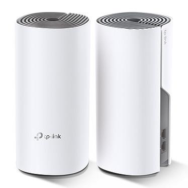 TP-LINK deco E4 (Pack de 2) Paquete de 2 routers inalámbricos Wi-Fi de doble banda AC1200 (AC867 + N300) MESH con puerto Ethernet de 100 Mbps