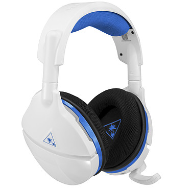 Turtle Beach Stealth 600P Blanc Casque-micro sans fil Surround avec micro invisible (PS3, PS4)