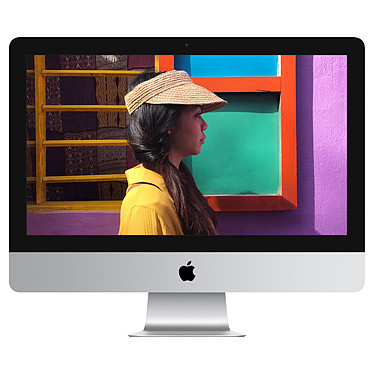 "Apple iMac (2019) 21.5 pouces avec écran Retina 4K (MRT32FN/A) Intel Core i3 (3.6 GHz) 8 Go 1 To LED 21.5"" AMD Radeon Pro 555X 2GB Wi-Fi AC/Bluetooth Webcam macOS Mojave"