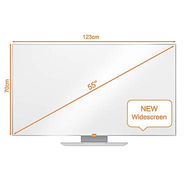 "Avis Nobo Tableau Blanc Nano Clean Nobo Widescreen 55"""
