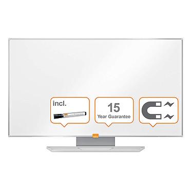 """Nobo Tableau Blanc Nano Clean Nobo Widescreen 40"""" Tableau Blanc Ecran large 40"""" magnétique et effaçable 898 x 510 mm"""