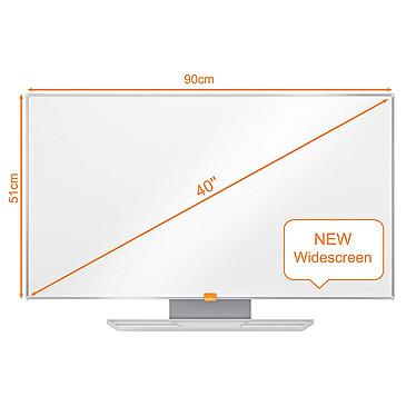 "Avis Nobo Tableau Blanc Nano Clean Nobo Widescreen 40"""