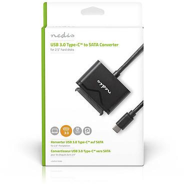 "Acheter Nedis Adaptateur USB-C 3.0 vers SATA pour HDD/SSD 2.5"""