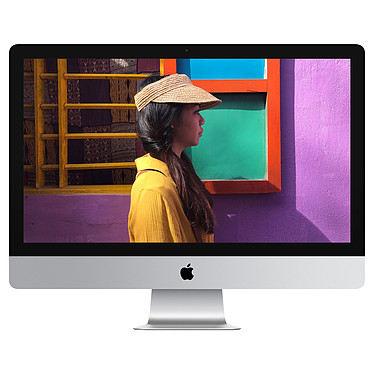 "Apple iMac 27 pulgadas con pantalla Retina 5K (MRR12Y/A) - 2019 Intel Core i5 (3.7 GHz) 8 GB Fusion Drive 2 TB LED 27"" AMD Radeon Pro 580X 8GB Wi-Fi AC/Bluetooth Webcam macOS Mojave"
