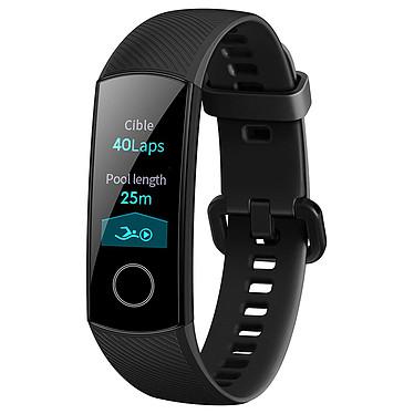 Honor Band 4 Noir Coach sportif étanche Bluetooth avec écran tactile AMOLED, cardio-fréquencemètre, GPS, suivi du sommeil, compatible iOS et Android