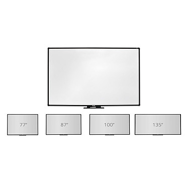 """Vanerum i3BOARD Tableau blanc interactif 87"""" - 10 touch DUO pas cher"""