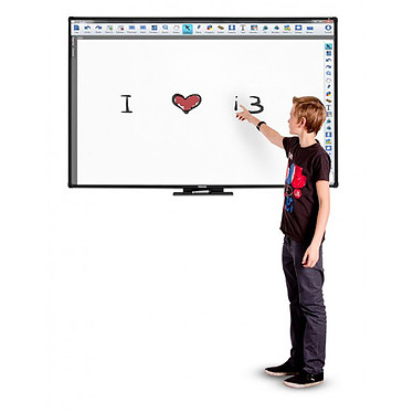 "Avis Vanerum i3BOARD Tableau blanc interactif 87"" - 10 touch DUO"