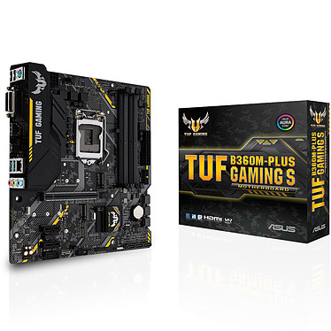 ASUS TUF B360M-PLUS S GAMING