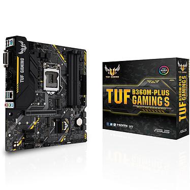 ASUS TUF B360M-PLUS S GAMING Carte mère Micro ATX Socket 1151 Intel B360 Express - 4x DDR4 - SATA 6Gb/s + M.2 - USB 3.1 - 1x PCI-Express 3.0 16x