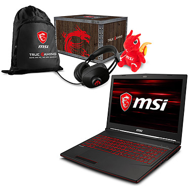 MSI GL63 8RD-272FR + MSI Loot Box - Level 2 OFFERTE !